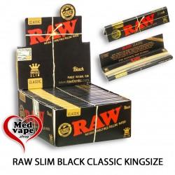 RAW SLIM BLACK CLASSIC...